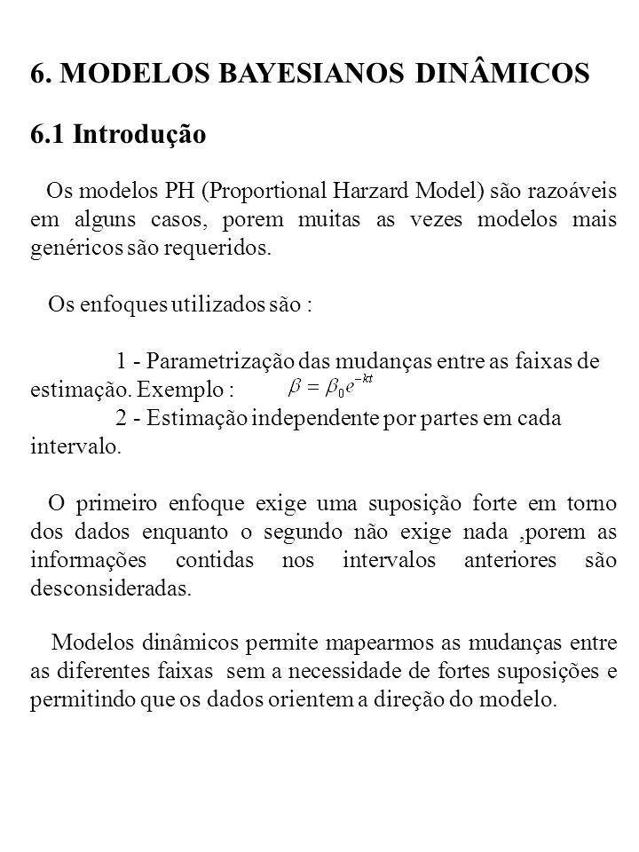 6. MODELOS BAYESIANOS DINÂMICOS