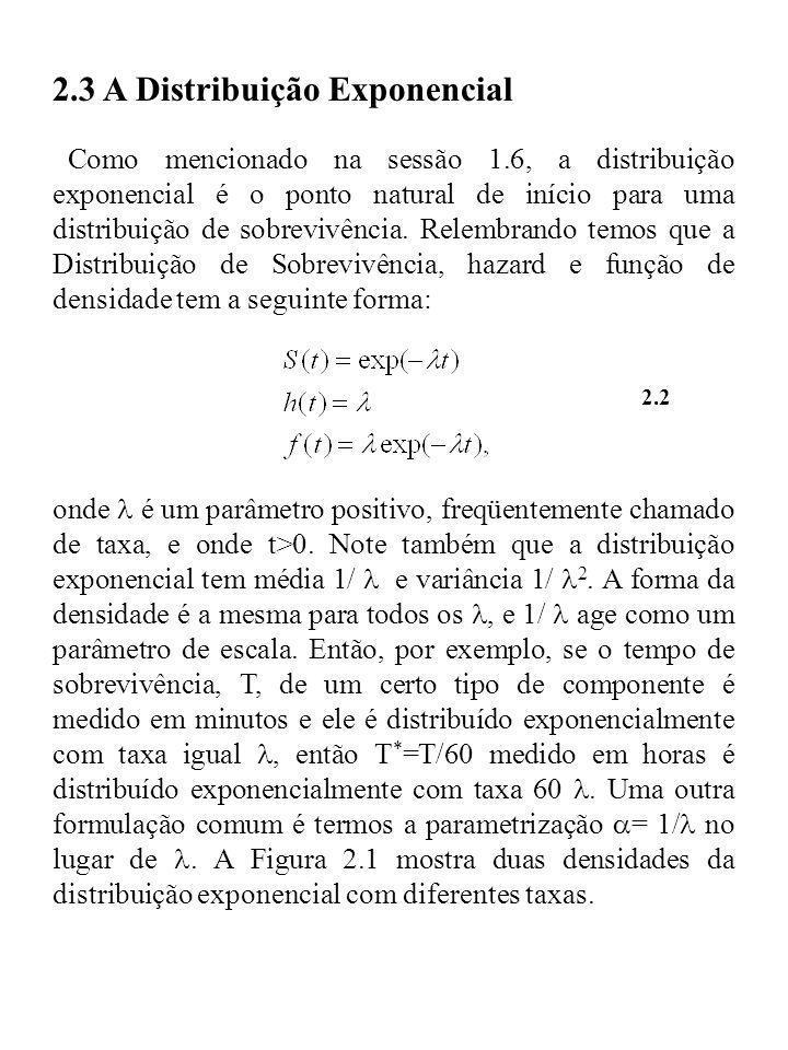 2.3 A Distribuição Exponencial