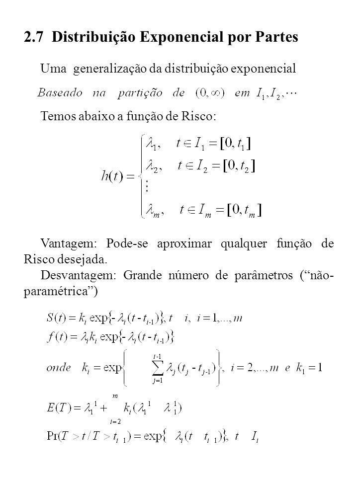 2.7 Distribuição Exponencial por Partes