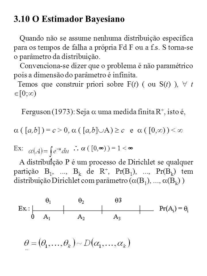 3.10 O Estimador Bayesiano