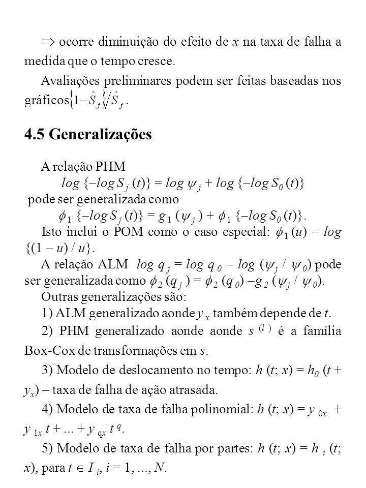 f 1 {log S j (t)} = g 1 (y j ) + f 1 {log S0 (t)}.
