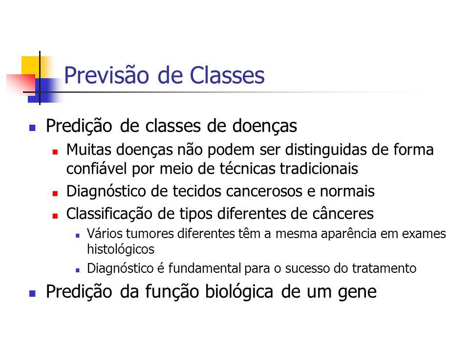 Previsão de Classes Predição de classes de doenças