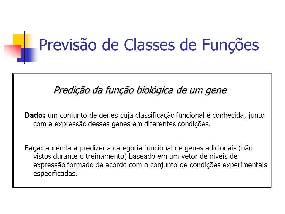 Previsão de Classes de Funções