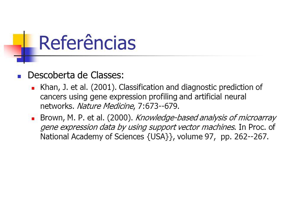 Referências Descoberta de Classes:
