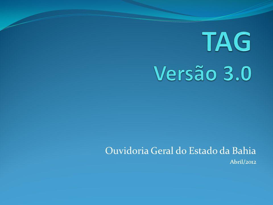 Ouvidoria Geral do Estado da Bahia Abril/2012