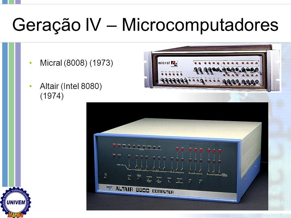 Geração IV – Microcomputadores