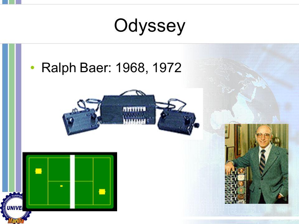 Odyssey Ralph Baer: 1968, 1972