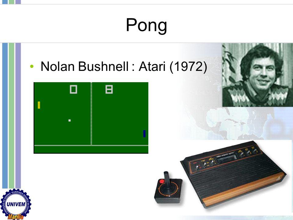 Pong Nolan Bushnell : Atari (1972)