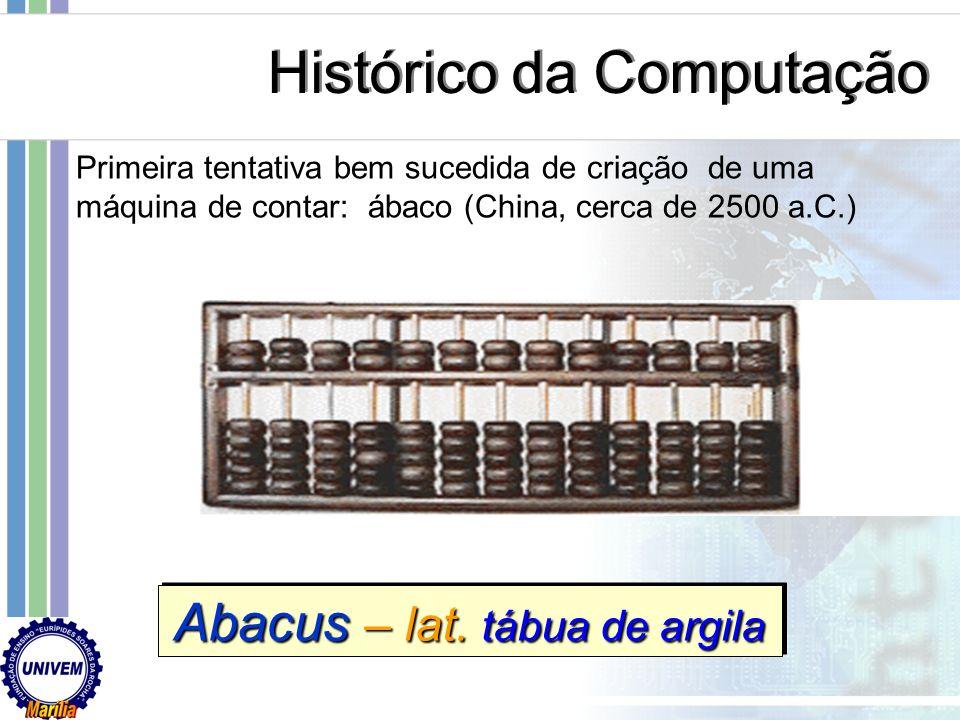 Abacus – lat. tábua de argila