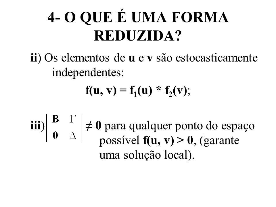 4- O QUE É UMA FORMA REDUZIDA