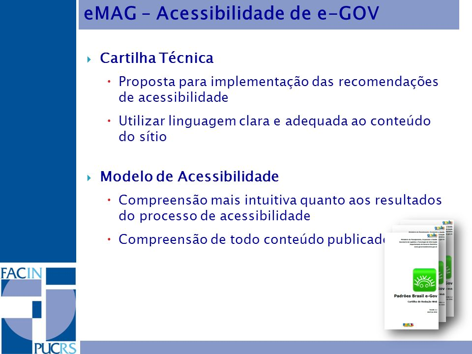 eMAG – Acessibilidade de e-GOV