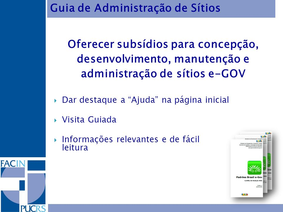 Guia de Administração de Sítios