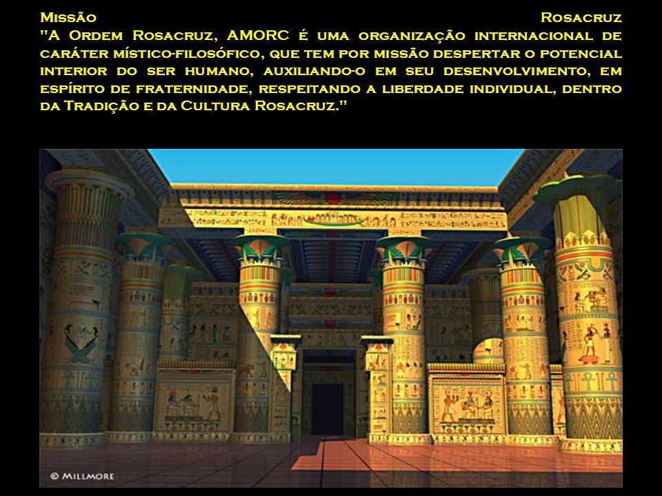 Missão Rosacruz A Ordem Rosacruz, AMORC é uma organização internacional de caráter místico-filosófico, que tem por missão despertar o potencial interior do ser humano, auxiliando-o em seu desenvolvimento, em espírito de fraternidade, respeitando a liberdade individual, dentro da Tradição e da Cultura Rosacruz.