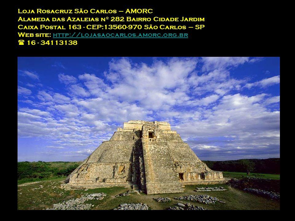 Loja Rosacruz São Carlos – AMORC Alameda das Azaleias nº 282 Bairro Cidade Jardim Caixa Postal 163 - CEP:13560-970 São Carlos – SP Web site: http://lojasaocarlos.amorc.org.br  16 - 34113138