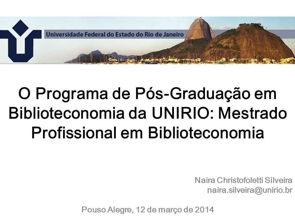 Pouso Alegre, 12 de março de 2014