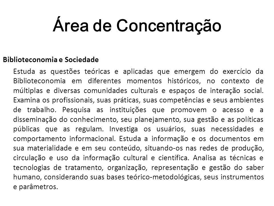 Área de Concentração