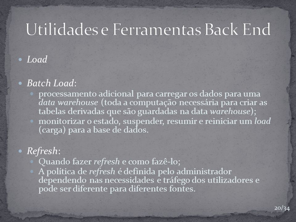 Utilidades e Ferramentas Back End