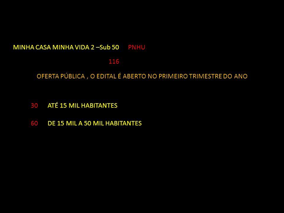 MINHA CASA MINHA VIDA 2 –Sub 50