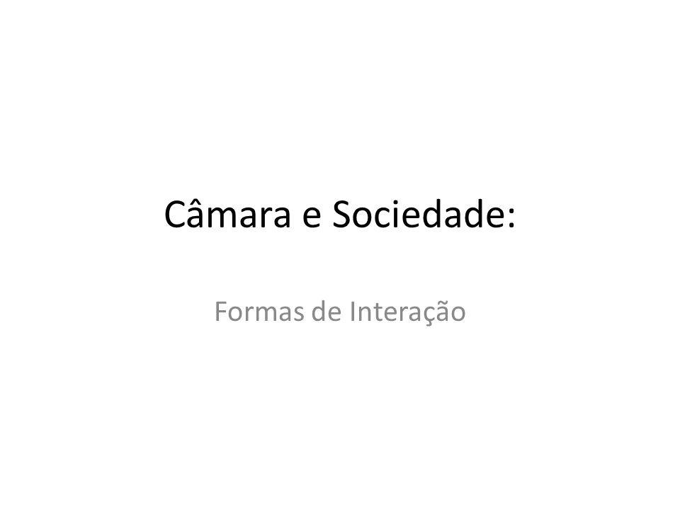 Câmara e Sociedade: Formas de Interação