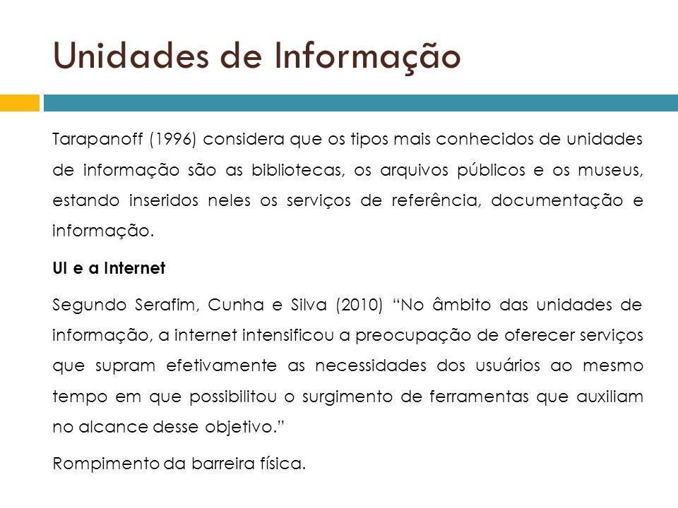 Unidades de Informação