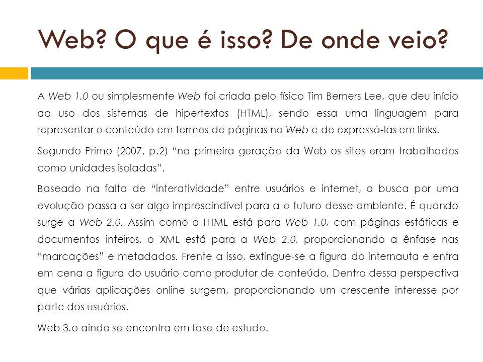 Web O que é isso De onde veio