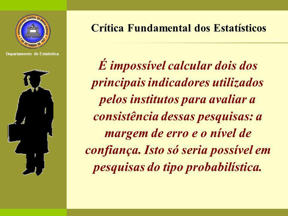 Crítica Fundamental dos Estatísticos