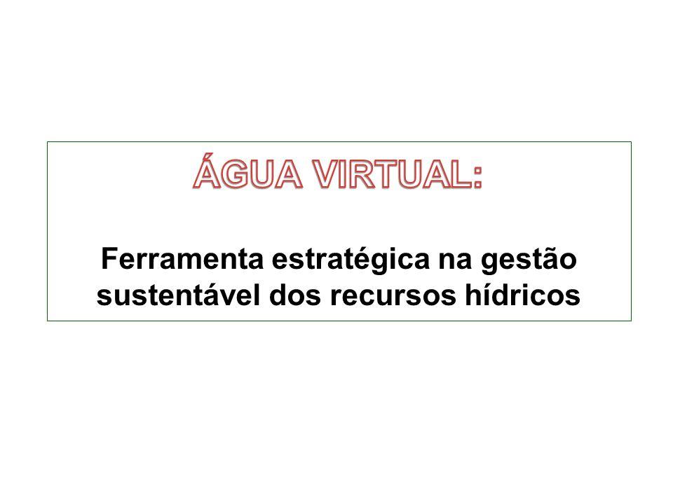 ÁGUA VIRTUAL: Ferramenta estratégica na gestão sustentável dos recursos hídricos