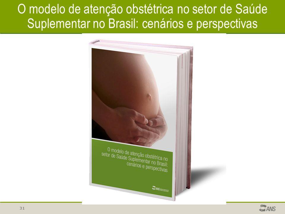 O modelo de atenção obstétrica no setor de Saúde Suplementar no Brasil: cenários e perspectivas