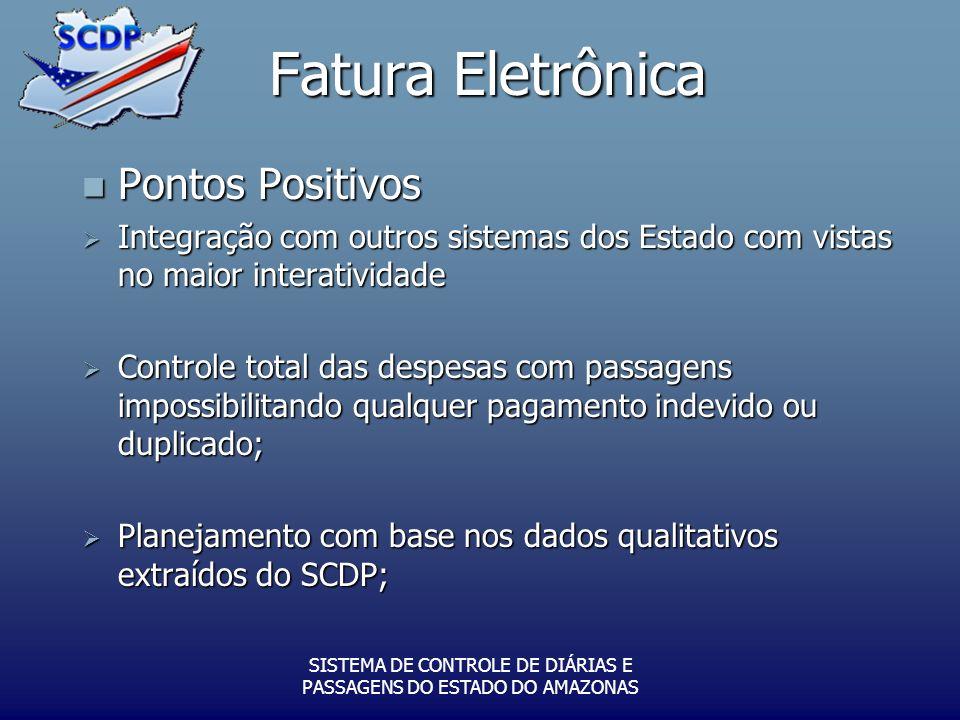 SISTEMA DE CONTROLE DE DIÁRIAS E PASSAGENS DO ESTADO DO AMAZONAS