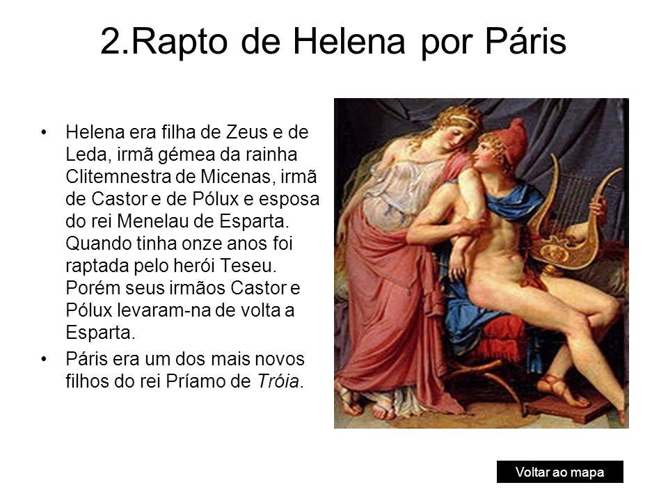 2.Rapto de Helena por Páris