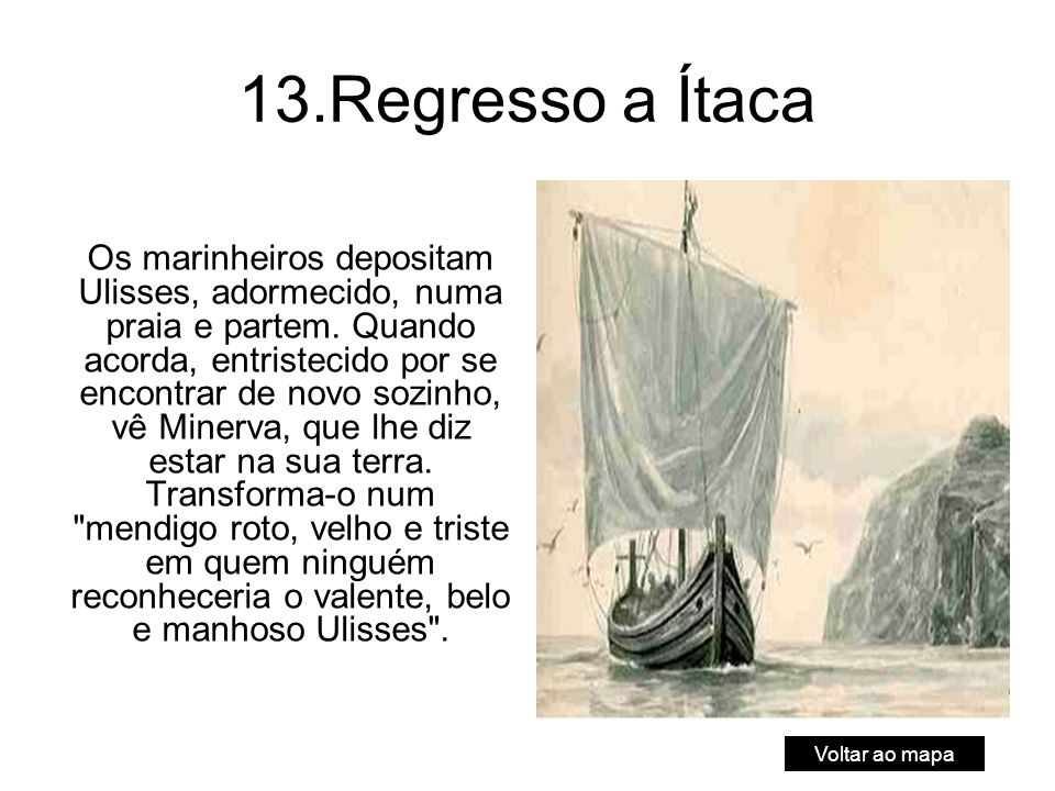 13.Regresso a Ítaca