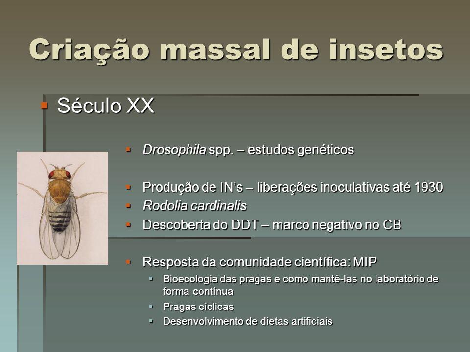 Criação massal de insetos