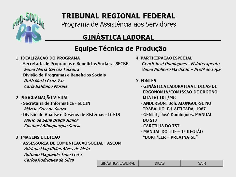 TRIBUNAL REGIONAL FEDERAL