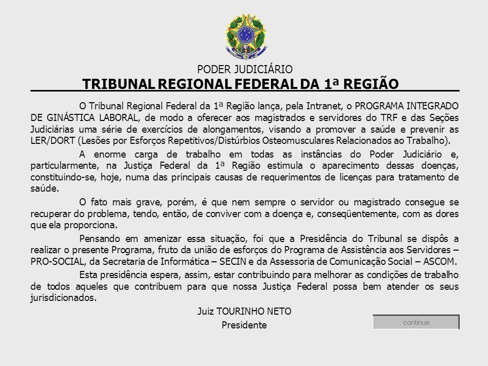 ______TRIBUNAL REGIONAL FEDERAL DA 1ª REGIÃO_______