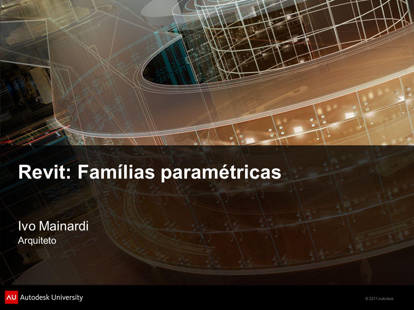 Revit: Famílias paramétricas