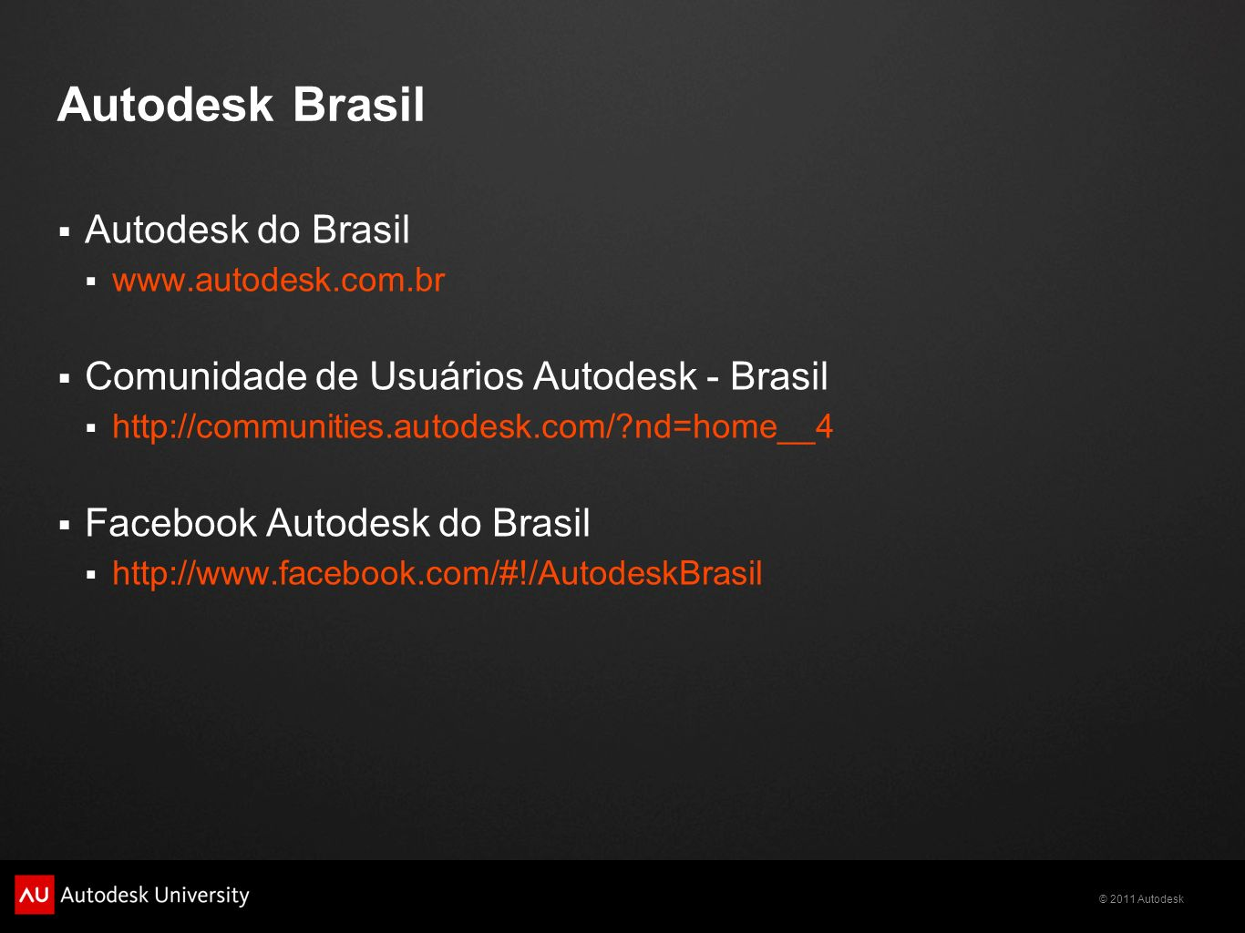 Autodesk Brasil Autodesk do Brasil