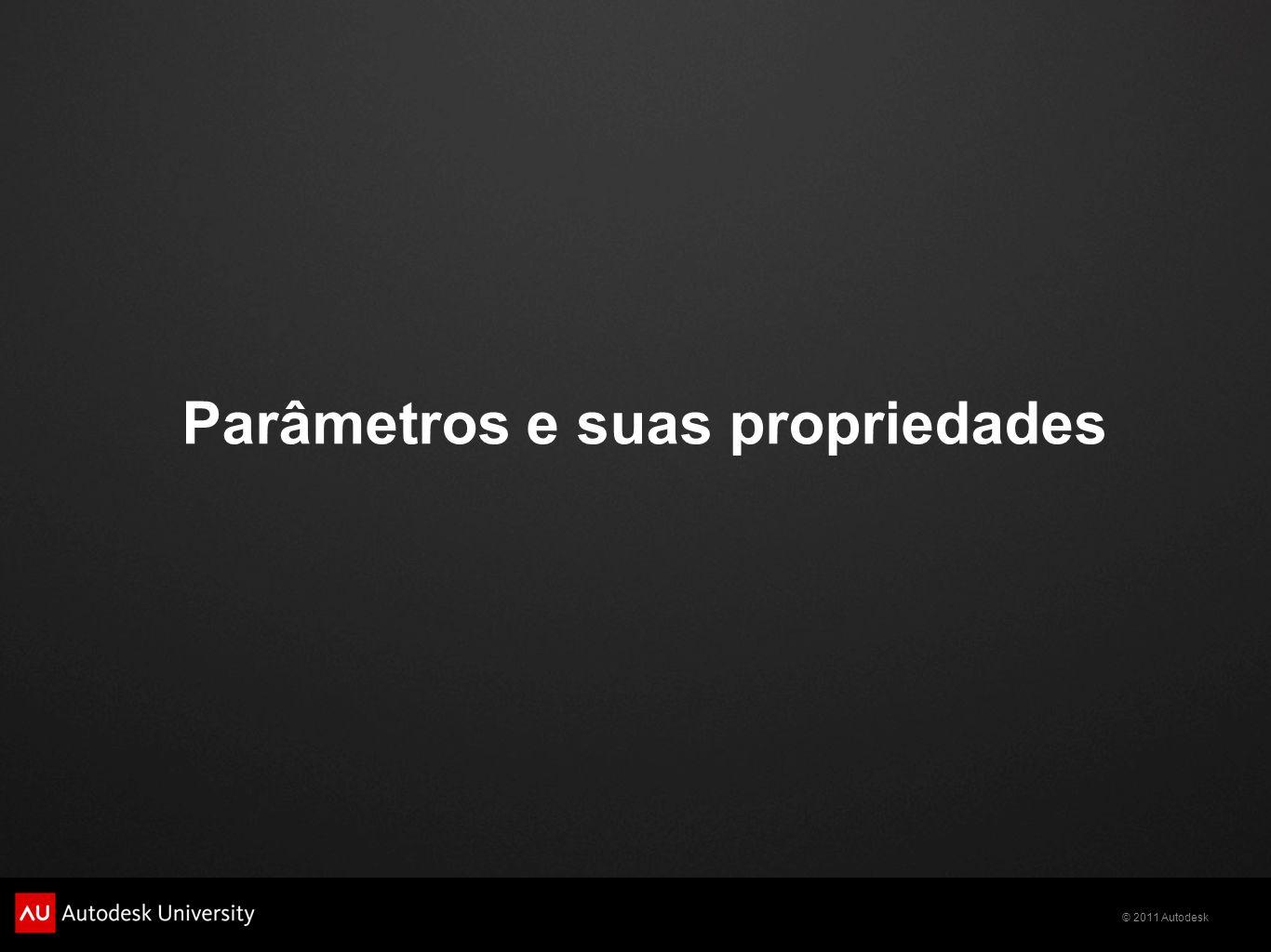 Parâmetros e suas propriedades