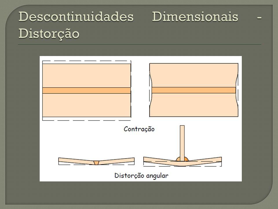 Descontinuidades Dimensionais - Distorção