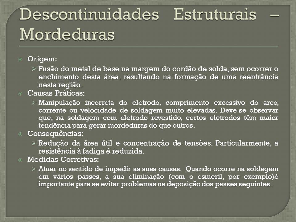 Descontinuidades Estruturais – Mordeduras