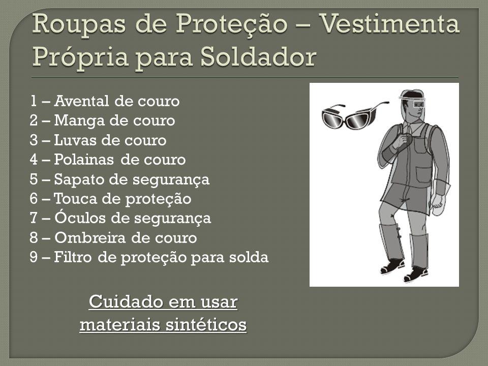 Roupas de Proteção – Vestimenta Própria para Soldador