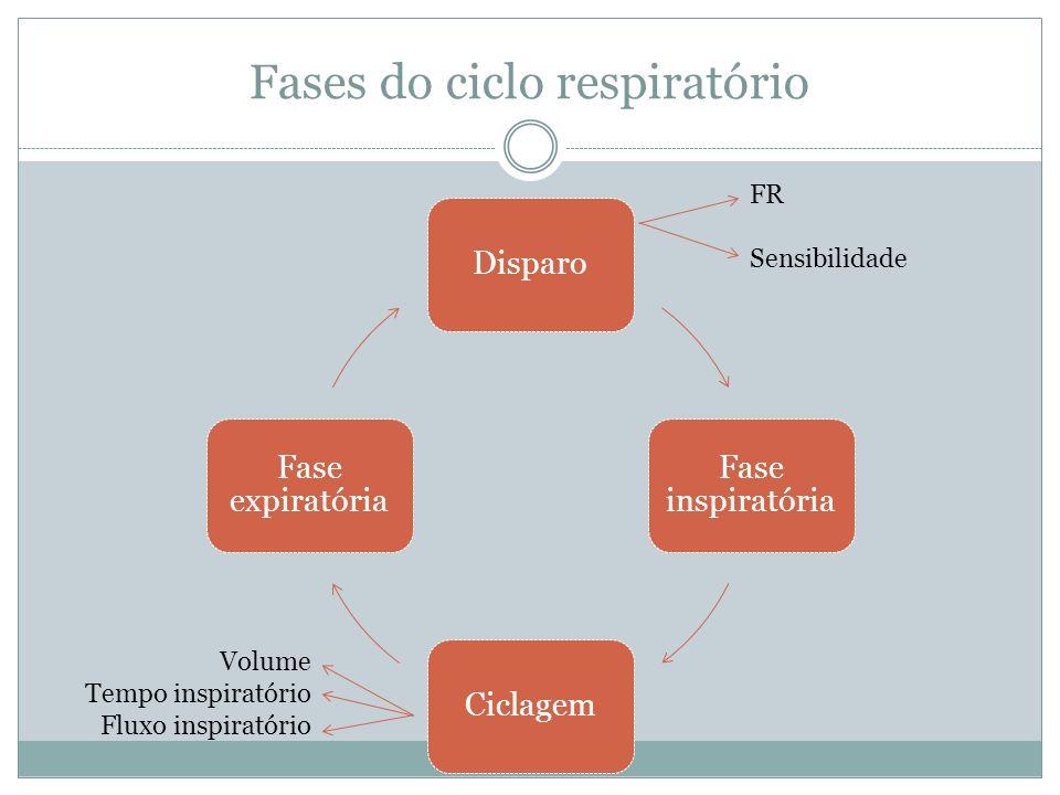 Fases do ciclo respiratório
