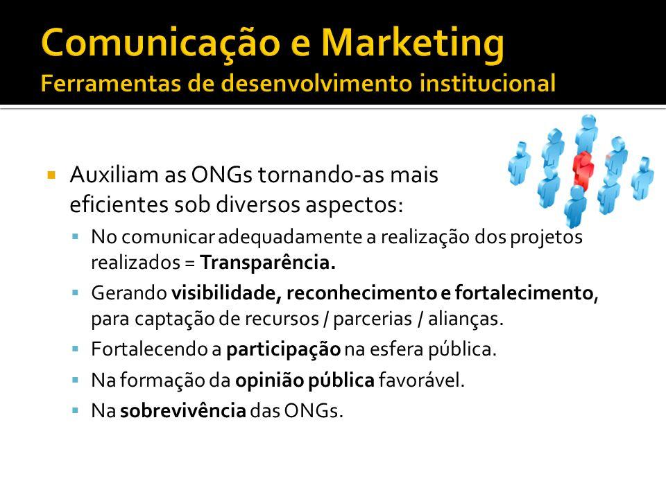 Comunicação e Marketing Ferramentas de desenvolvimento institucional