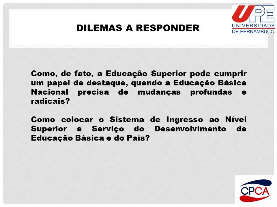 DILEMAS A RESPONDER