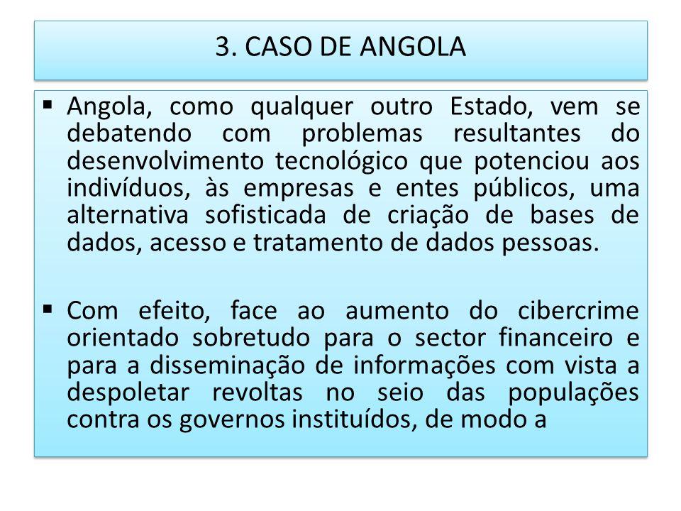 3. CASO DE ANGOLA