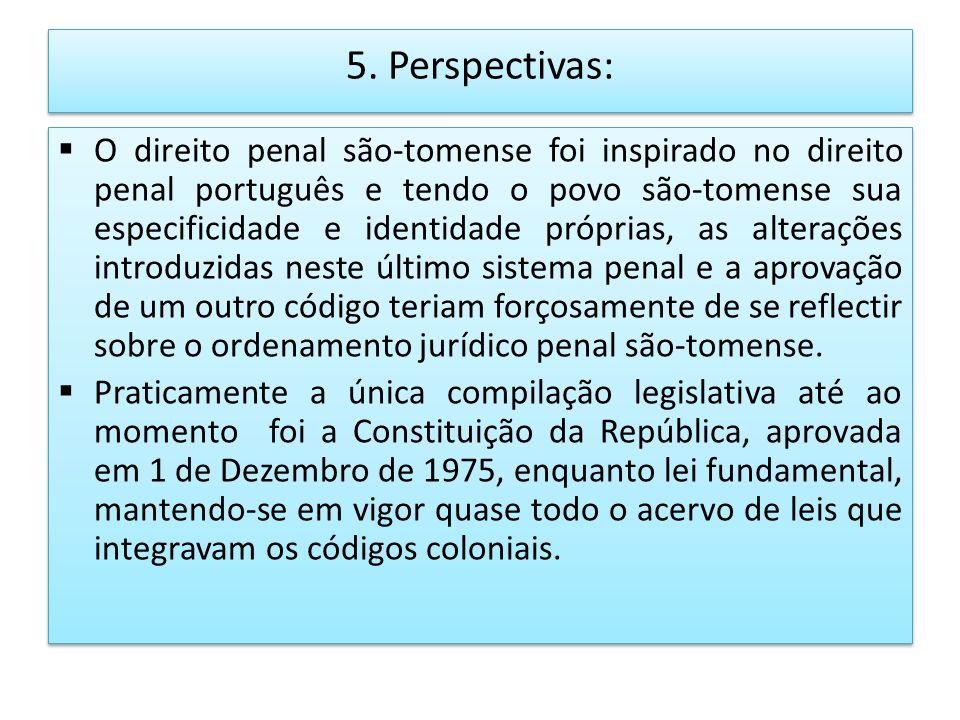 5. Perspectivas: