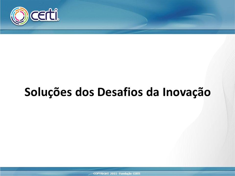 Soluções dos Desafios da Inovação