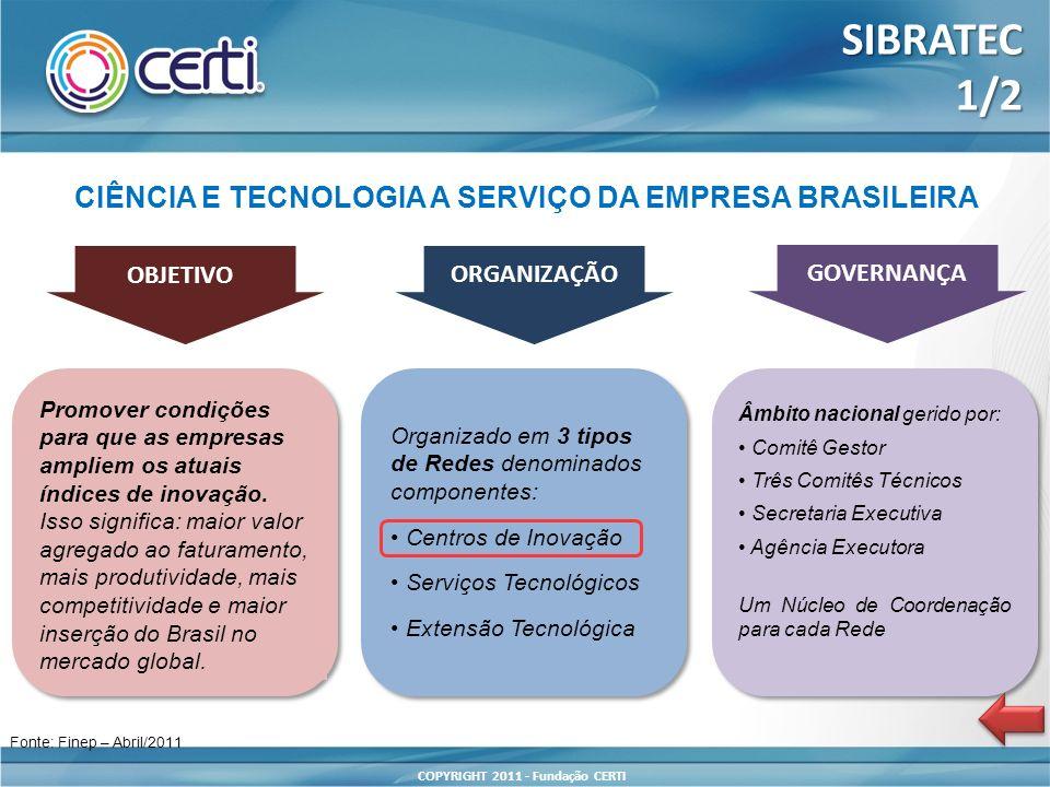 CIÊNCIA E TECNOLOGIA A SERVIÇO DA EMPRESA BRASILEIRA