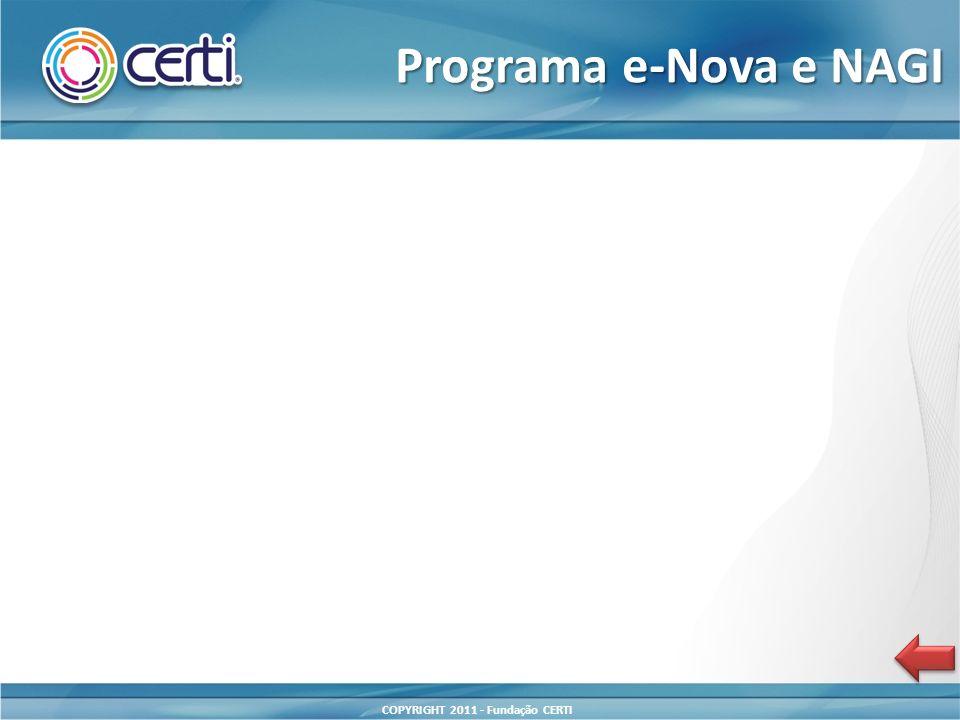 Programa e-Nova e NAGI