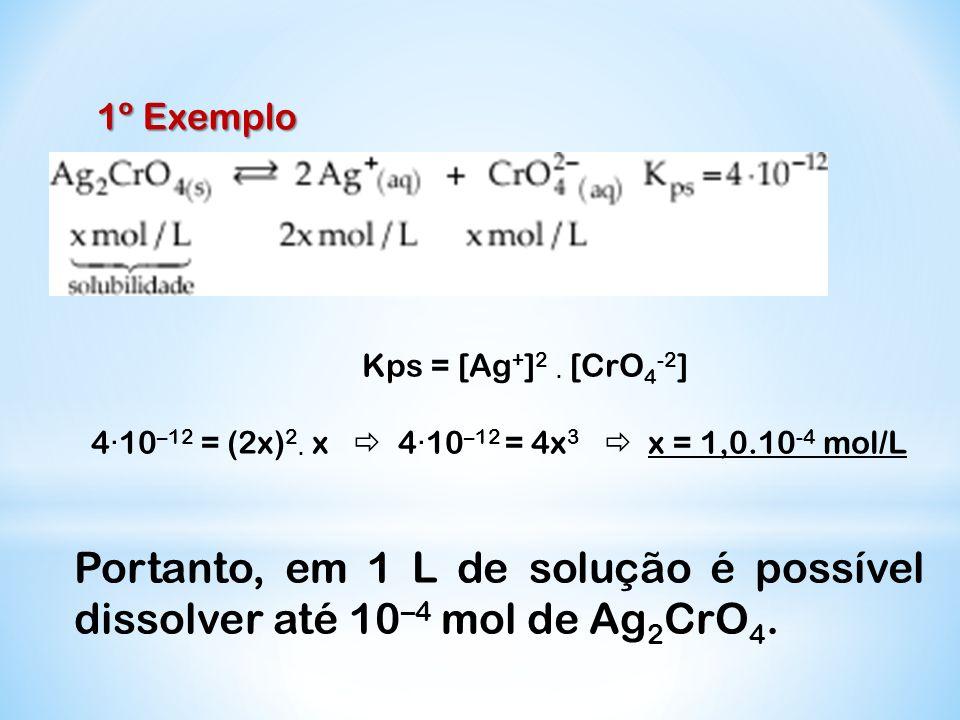 4·10–12 = (2x)2· x  4·10–12 = 4x3  x = 1,0.10-4 mol/L