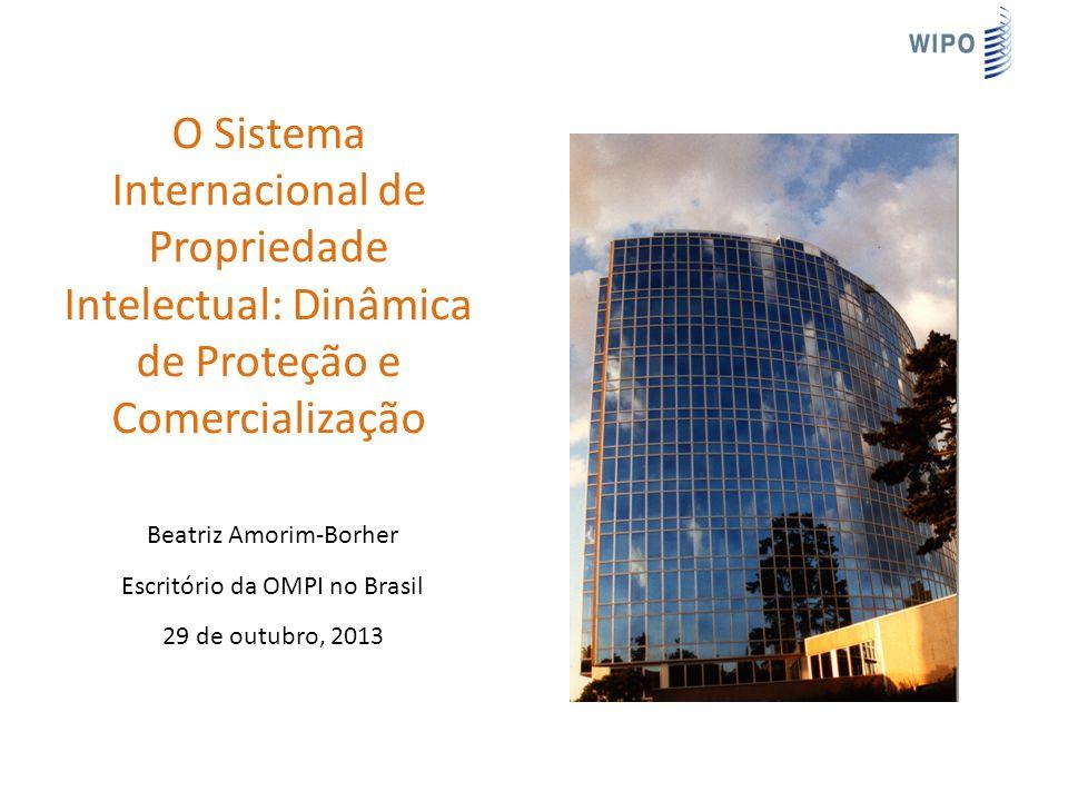 O Sistema Internacional de Propriedade Intelectual: Dinâmica de Proteção e Comercialização